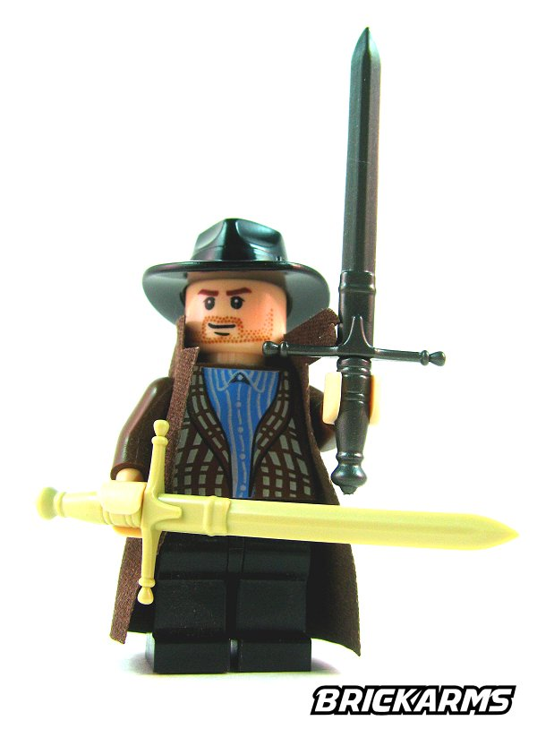 Brickarms claymore sword lego minifigure weapon