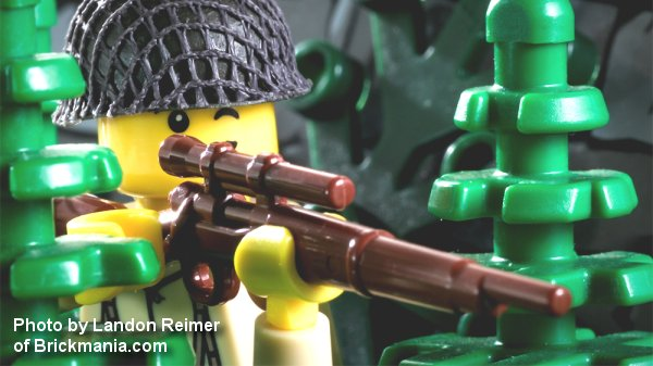 Brickarms Us M1903 A4 Army Sniper Rifle Ww1 Ww2 Lego
