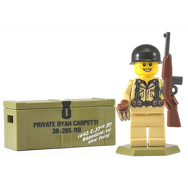 BrickArms Private Carpetti Custom LEGO Minifigure
